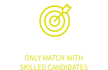 Only match with skilled candidates