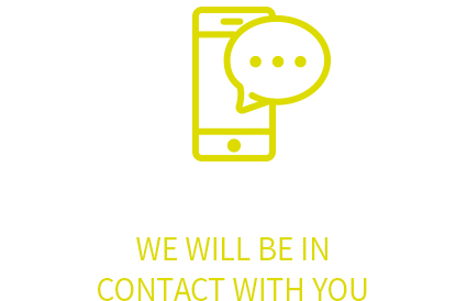 We will be in contact with you