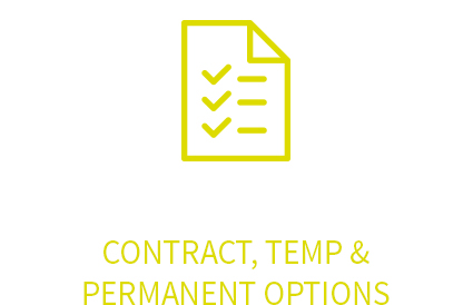 Contract, temp and permanent options